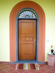 Foto Porta Blindata in legno e metallo